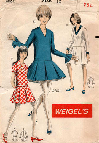 weigel's 2851 60s dress
