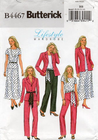 butterick 4467 oop separates
