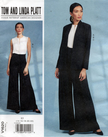 vogue 1620 pants suit tom and linda platt