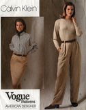 Vogue 2525 90s calvin klein skirt and pants
