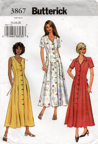 butterick 3867 oop dress