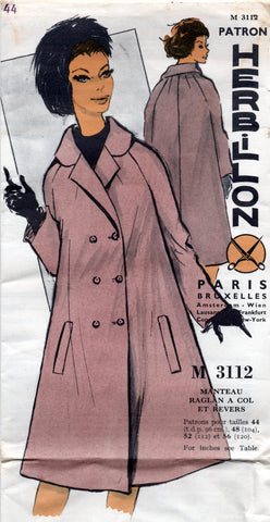 Herbillon M 3112 60s swing coat