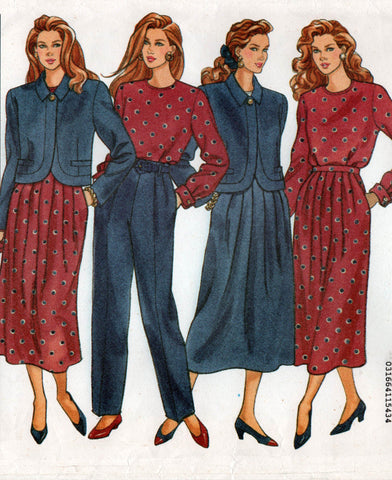 Butterick 5705 JG Hook separates 1990
