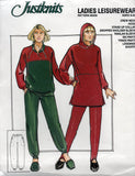justknits 96558 80s leisurewear