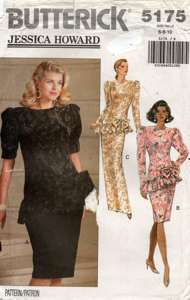 butterick 5175 90s dress