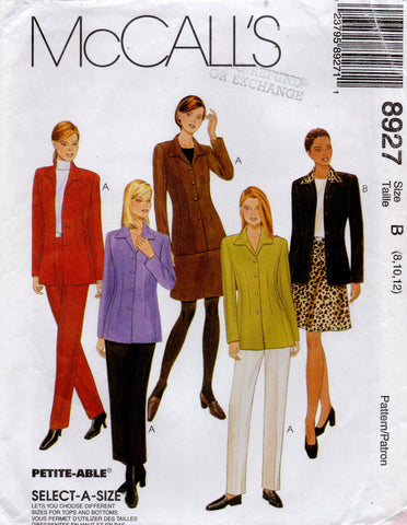 McCall's 8927 90s suit