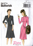 Butterick 6374 40s repro dress