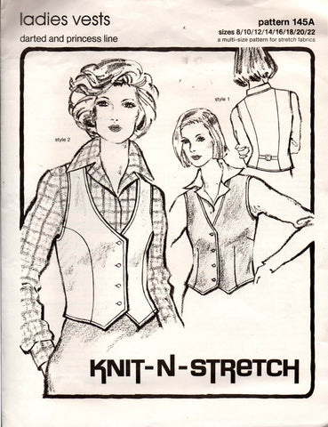 Knit N Stretch 145 A vests