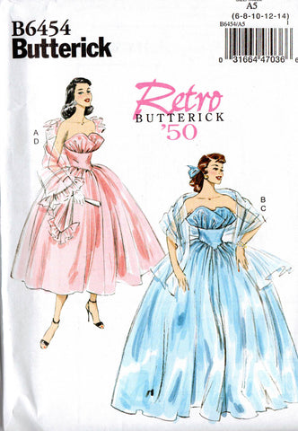 Butterick B6454 wedding dress
