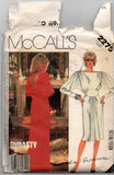 McCall's 2275 DYNASTY/ Linda Evans Womens Evening Maxi Dress with Low Back Drape 1980s Vintage Sewing Pattern Size 10 Bust 32 1/2 inches UNCUT Factory Folded