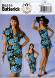 Butterick 6354 Gertie's playsuit