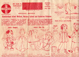 1940s Baby Rompers Pattern Pauline 43 Vintage Sewing Pattern Size 10-18 months