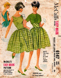 McCall's 6147 full skirt 60s dress and bolero