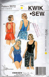 Kwik Sew 3072  plus size swimsuits