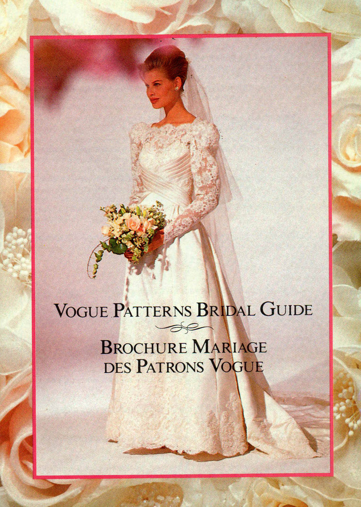 Vogue Bridal Original 1535 BELLVILLE SASSOON Womens Wedding Gown ...