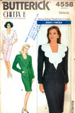 Butterick 4558 Chetta B Dress 90s