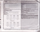 McCall's 4837 Womens Pleated Skirts Pattern Size 10 12 14 16 UNCUT Factory Folded