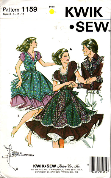 Kwik Sew 1159 square dance dress