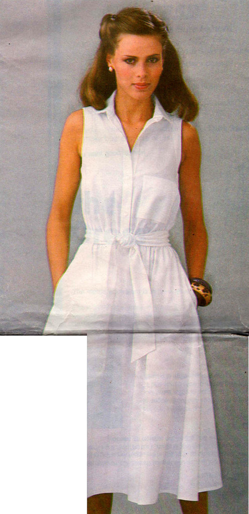 10 12   Sewing Pattern Simplicity 8972  Misses/' Dress and Sash  8