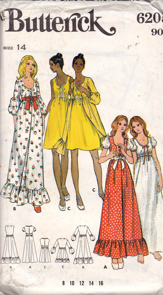 Butterick 6205 sleepwear