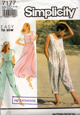 simplicity 7177 jumper and jumpsuit