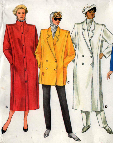 Butterick 4044 80s coat
