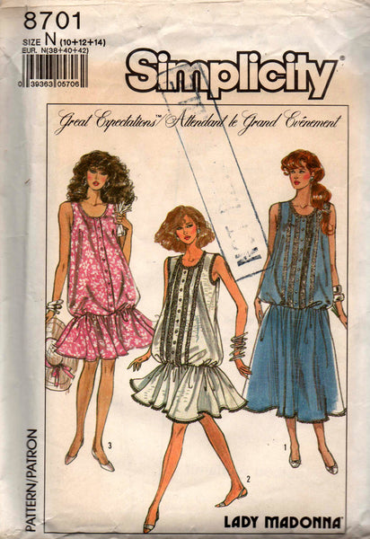 Maternity Vintage 1970s Retro Sewing Pattern Lot Of 7 Miss Size 12