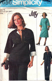 Simplicity 7656 Womens Caftan Top Skirt Pants 70s Vintage Sewing Pattern Size16 Bust 38 inches