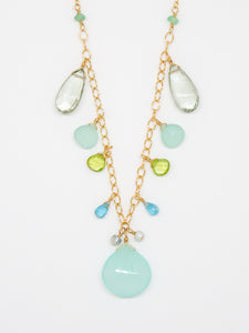 Chrysoface Sparkle and Shine Necklace - 6949