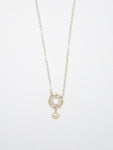 Baby Pearl Moonstone Necklace - 6983