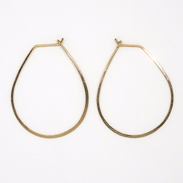Gold Filled Teardrop Earrings - E1686