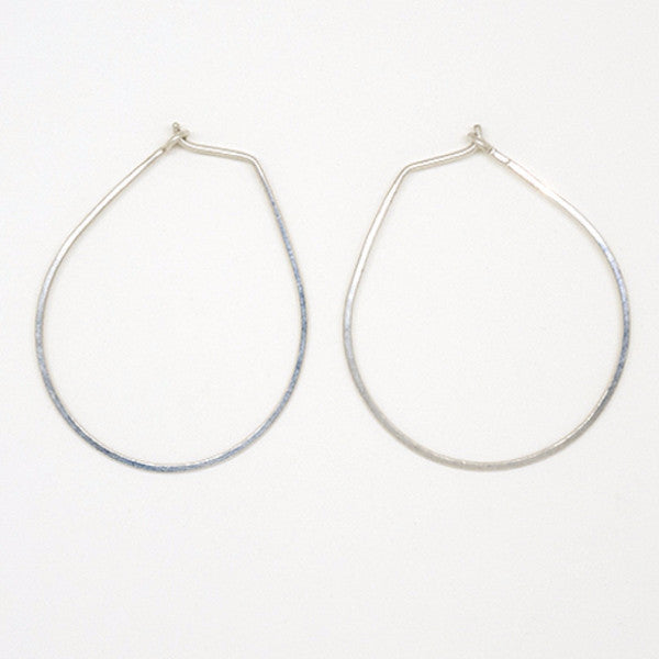 Sterling Silver Teardrop Earrings - E1686