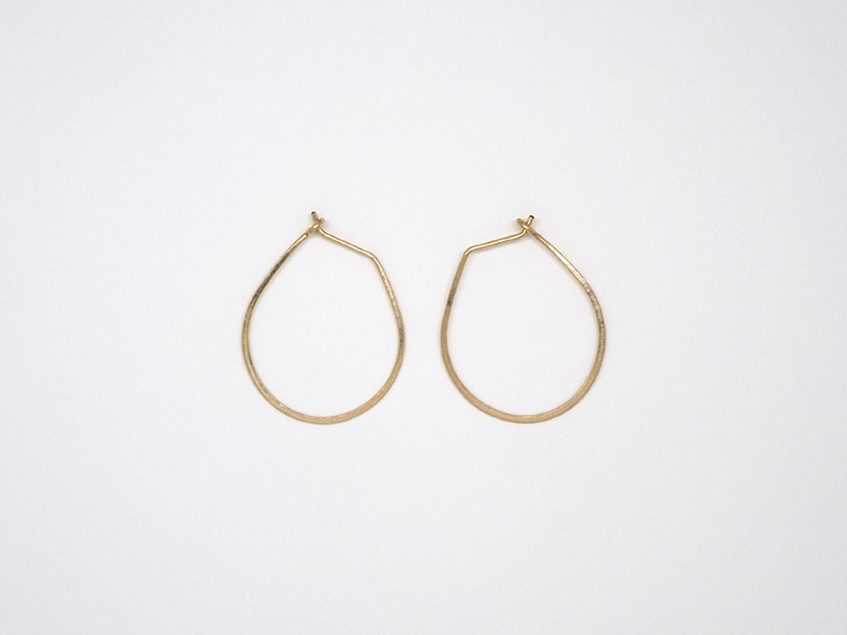 Small Gold Filled Teardrop Earrings - E1687