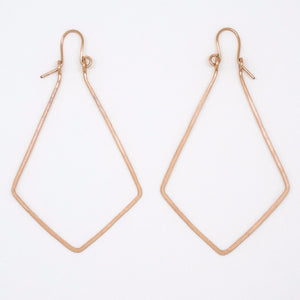 Rose Gold Diamond Earrings - E1948