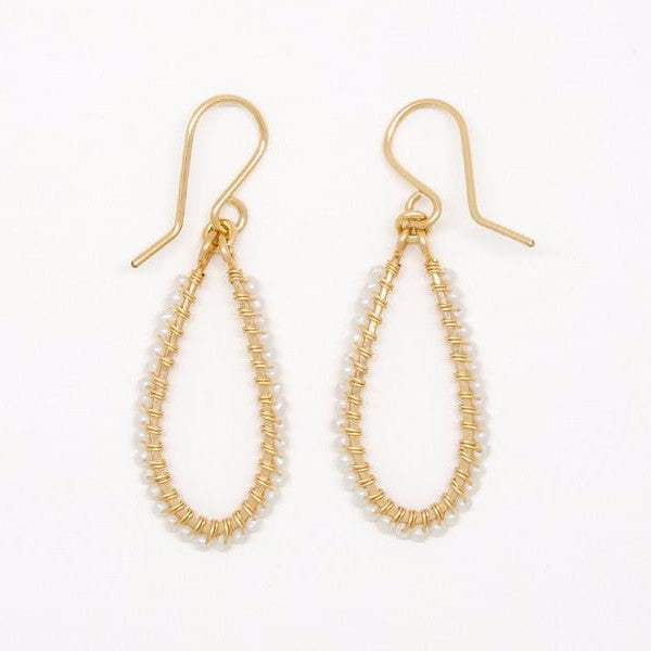 Itty Bitty Pearl Earrings - E2023