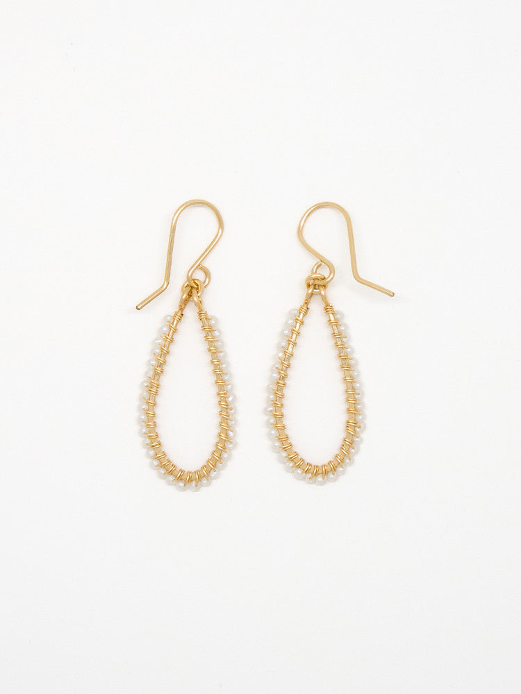 Itty Bitty White Pearl Earrings - E3023