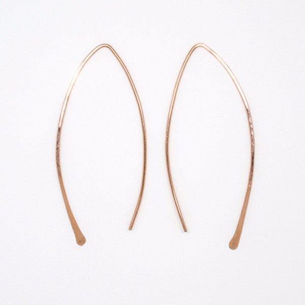 Rose Gold Threader Earrings - E3054