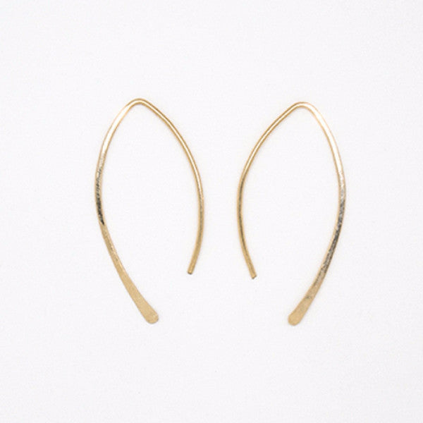 Gold Filled Small Threader Earrings - E3055