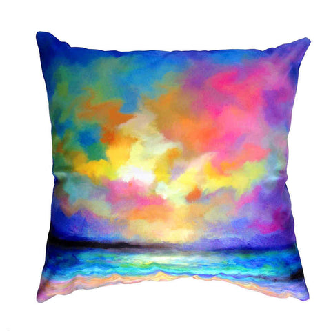 Dreams Of Summer - Outdoor Premium Cushion Cover - Quirky Happy