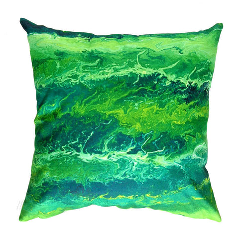 Emerald - Outdoor Premium Cushion Cover - Quirky Happy