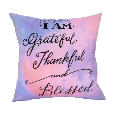 NEW DESIGN I Am Grateful, Thankful and Blessed no 1 - Quirky Happy - 1