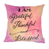 NEW DESIGN I Am Grateful, Thankful and Blessed no 3 - Quirky Happy - 3