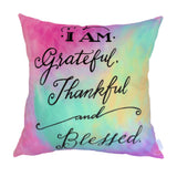 NEW DESIGN I Am Grateful, Thankful and Blessed no 3 - Quirky Happy - 1