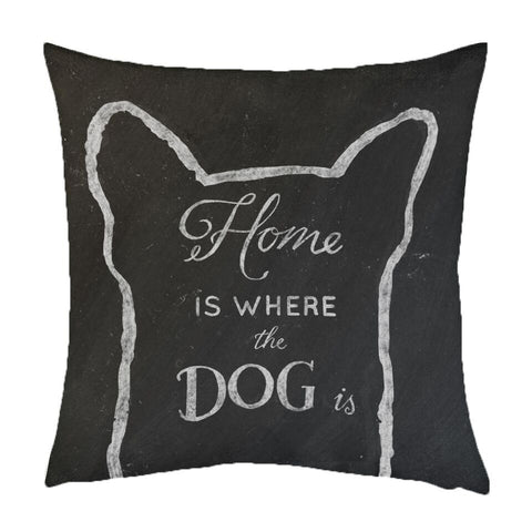 NEW DESIGN Home Is Where The Dog Is - Quirky Happy