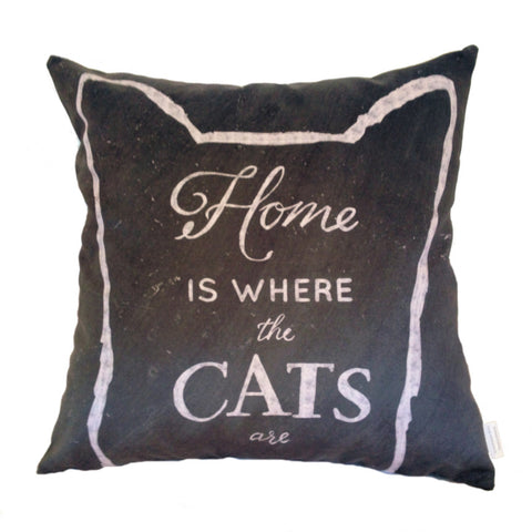 NEW DESIGN Home Is Where The Cats Are - Quirky Happy
