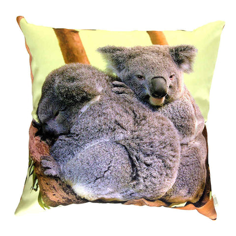 Koala Hugs - Outdoor Premium Cushion Cover - Quirky Happy