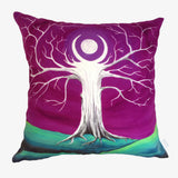 NEW DESIGN Emerald Moon Tree Hill Cushion Cover - Quirky Happy - 4