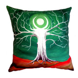 NEW DESIGN Amethyst Moon Tree Hill Cushion Cover - Quirky Happy - 4