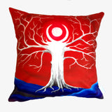 NEW DESIGN Emerald Moon Tree Hill Cushion Cover - Quirky Happy - 3