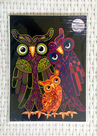 Owl I Want Is You Card - Quirky Happy